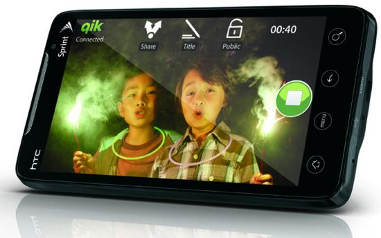 Спринт HTC Evo 4G