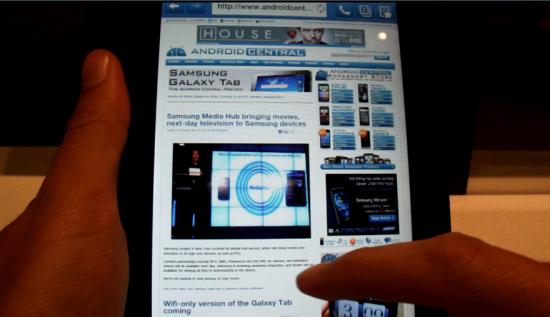 Galaxy Tab практический