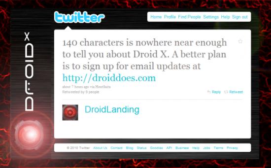 Droid X Scavenger Hunt