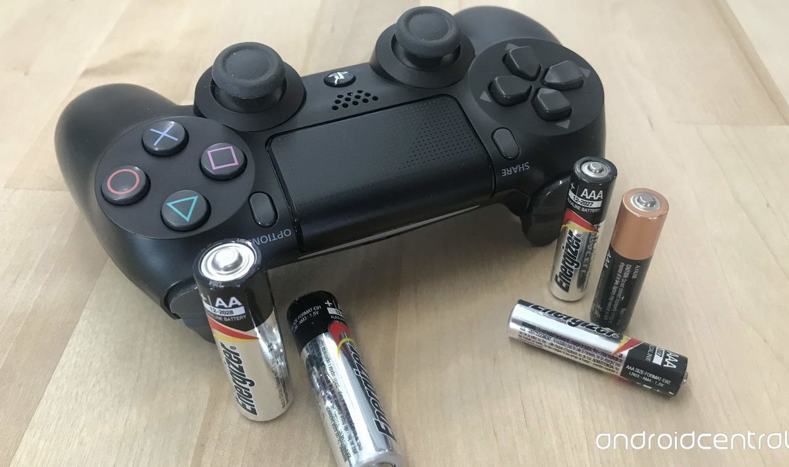 DualShock 4 Controller and Batteries