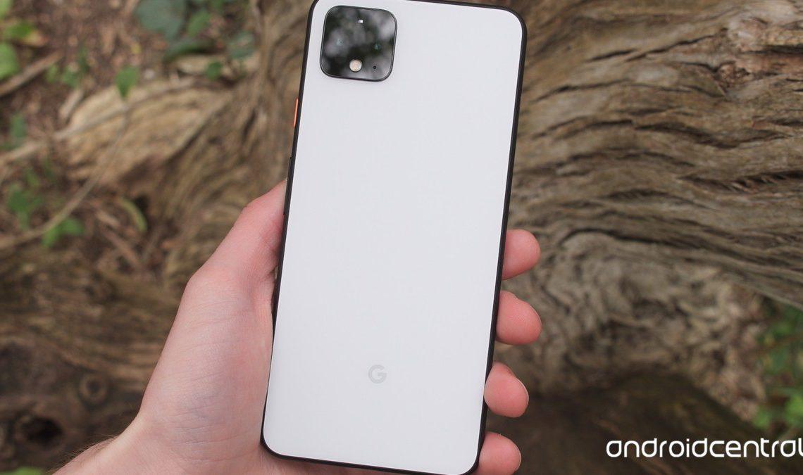 Google Pixel 4 XL in hand