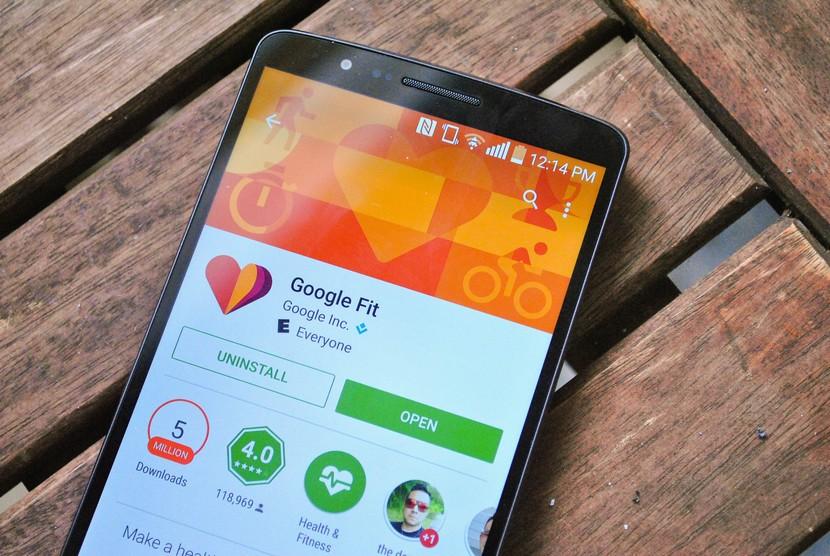 Google Fit в магазине Play