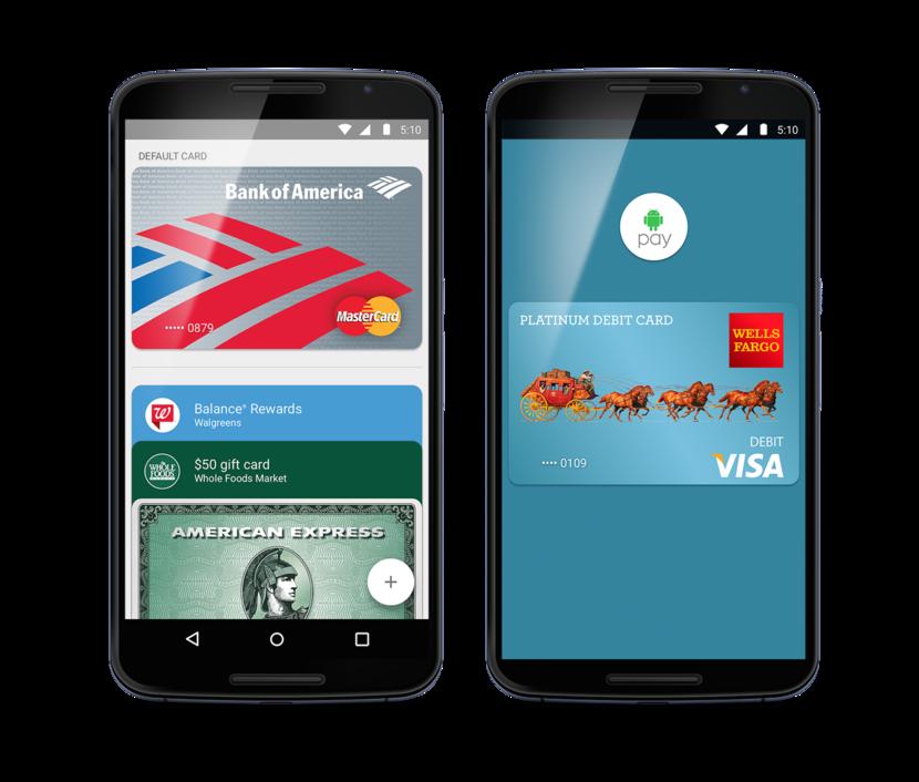 Android Pay начинает выпускаться с сегодняшнего дня