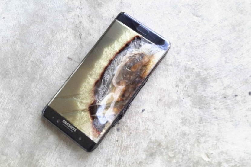 Galaxy Note 7 взорвался