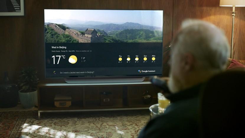 LG ThinQ TV с Google Assistant