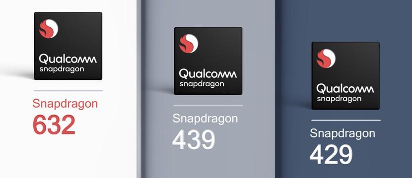 Qualcomm Snapdragon 632, 439 и 429