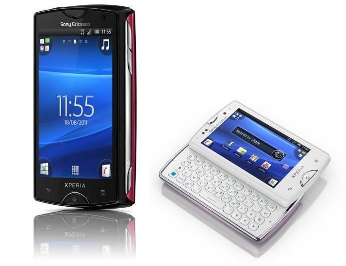 Sony Ericsson Xperia Mini и Mini Pro