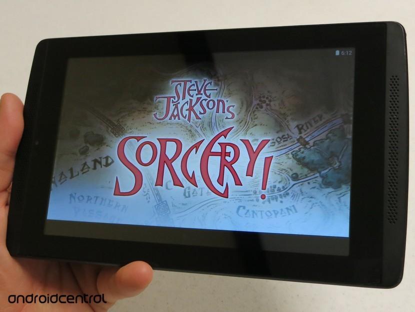 Обзор волшебства Стива Джексона 1 и 2 для Android EVGA Tegra Note 7