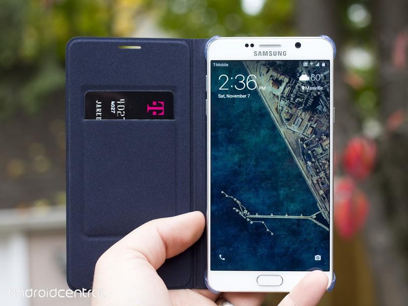 Быстрый взгляд на чехол-кошелек Samsung для Note 5