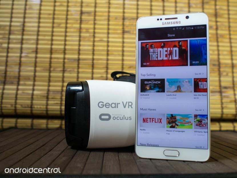 Samsung представляет интернет-браузер Gear VR