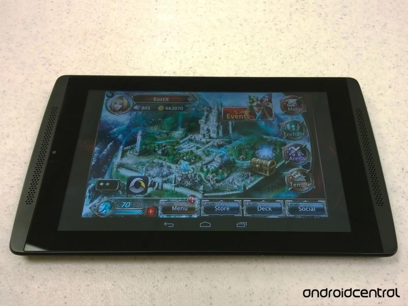 Элементные королевства Android EVGA Tegra Note 7 фото