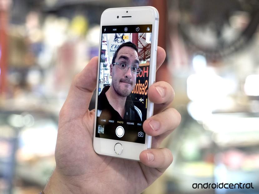 iPhone 7 Selfie
