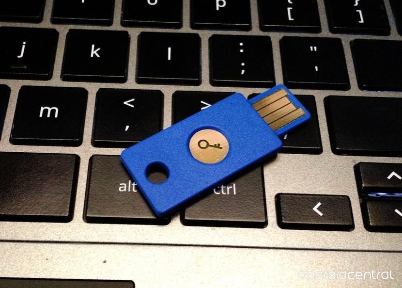 Клиенты Google Apps для работы могут получить ключ безопасности Yubico за 9 долларов.