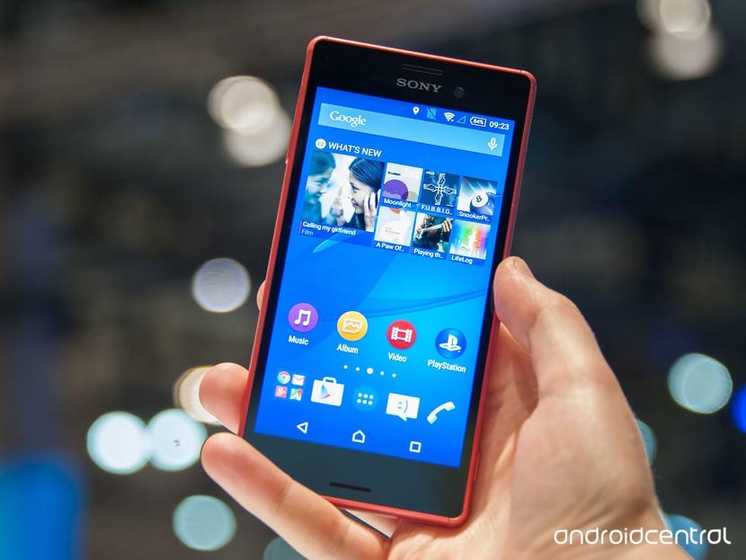 Sony Xperia M4 Aqua появится в Канаде в середине июня