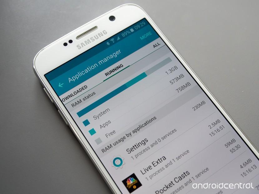 Приложения Galaxy S6