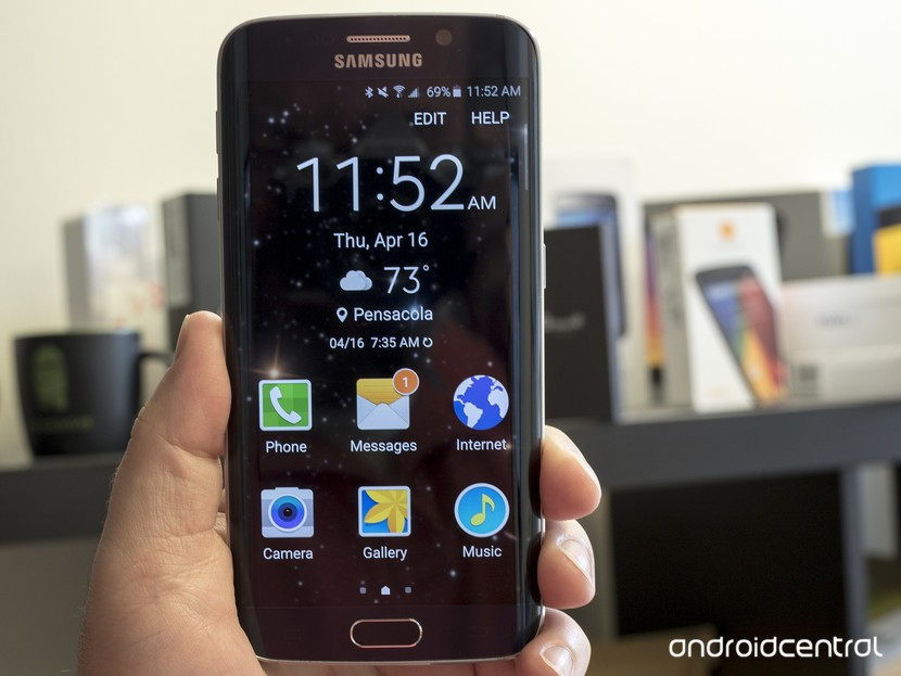 Samsung Galaxy S6 Easy Mode