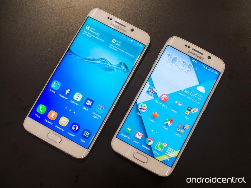 Galaxy S6 край плюс против S6 край