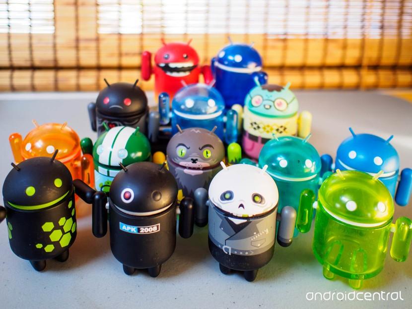 Статуэтки Android