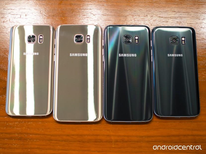 Galaxy S7 и S7 край