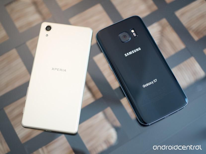 Производительность Xperia X и Galaxy S7