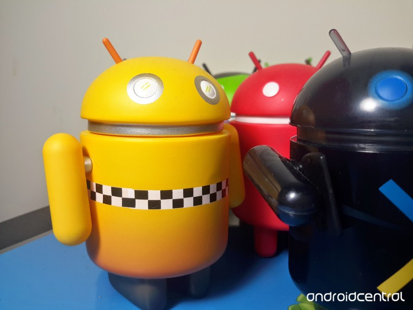 Цифры Android