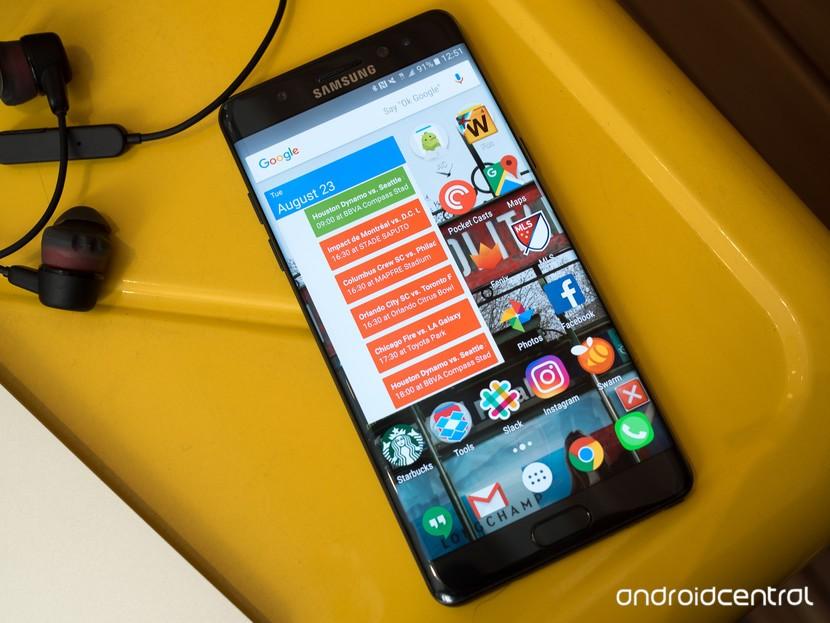 Как исправить Google Now Launcher на Galaxy Note 7