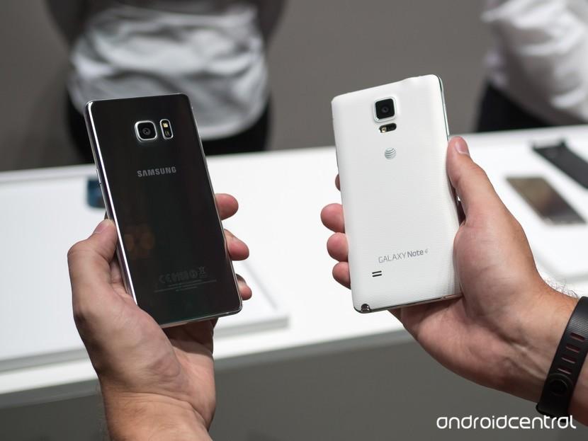 Galaxy Note 7 и Note 4