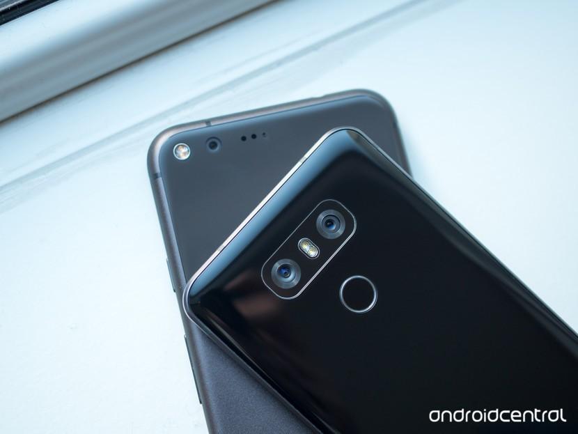 LG G6 и Pixel XL