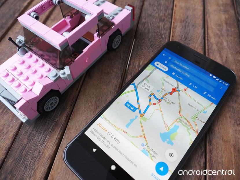 Как проложить маршрут проезда в Google Maps