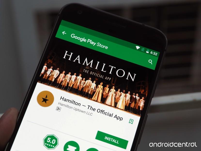 Гамильтон приложение Play Store