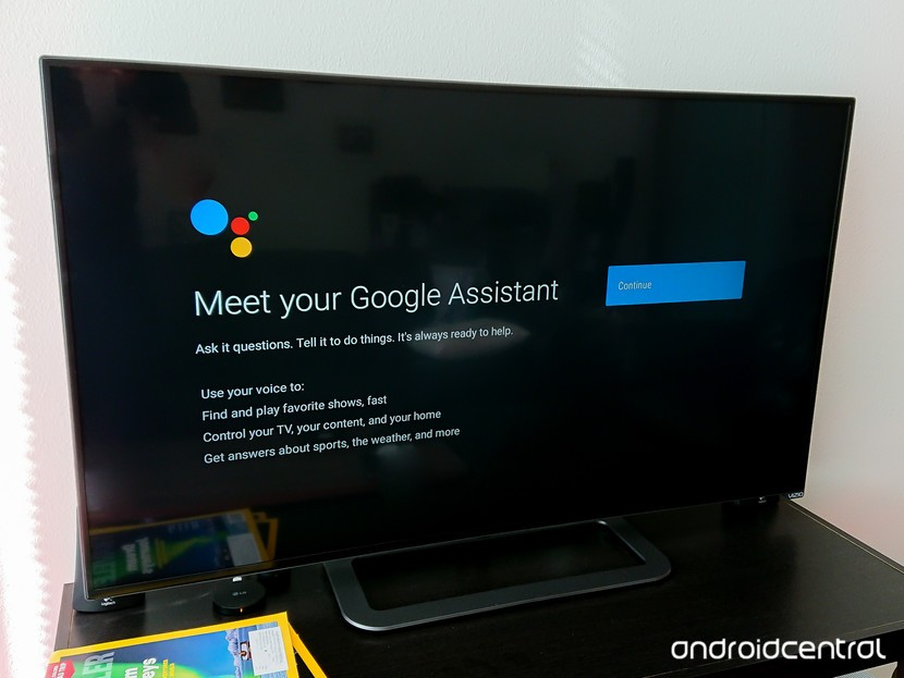 Google Assistant на Android TV