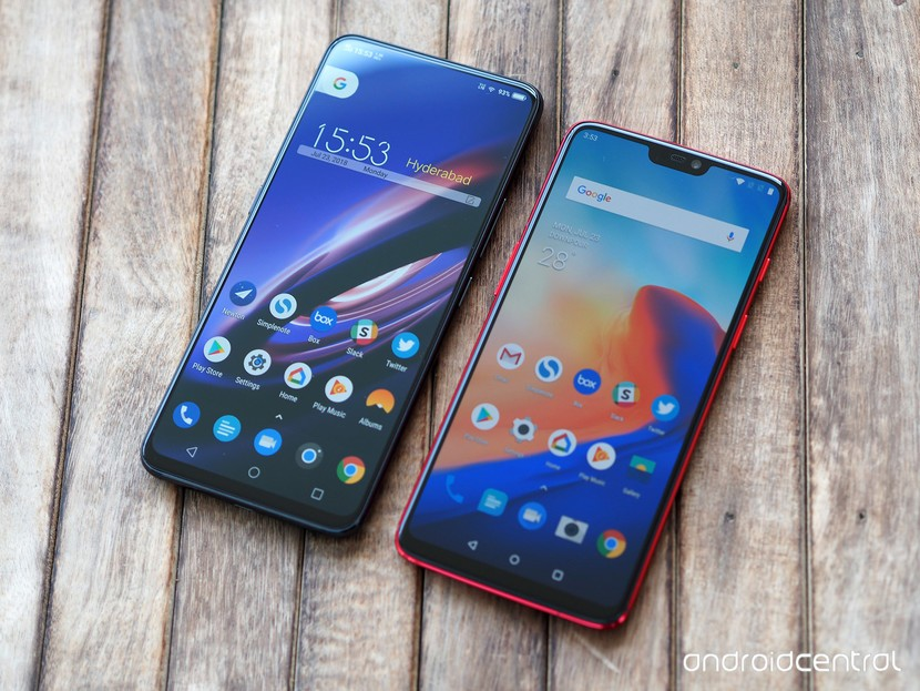 Vivo NEX vs. OnePlus 6