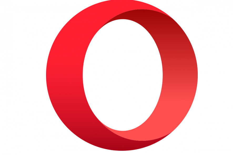 исправить Opera черный экран