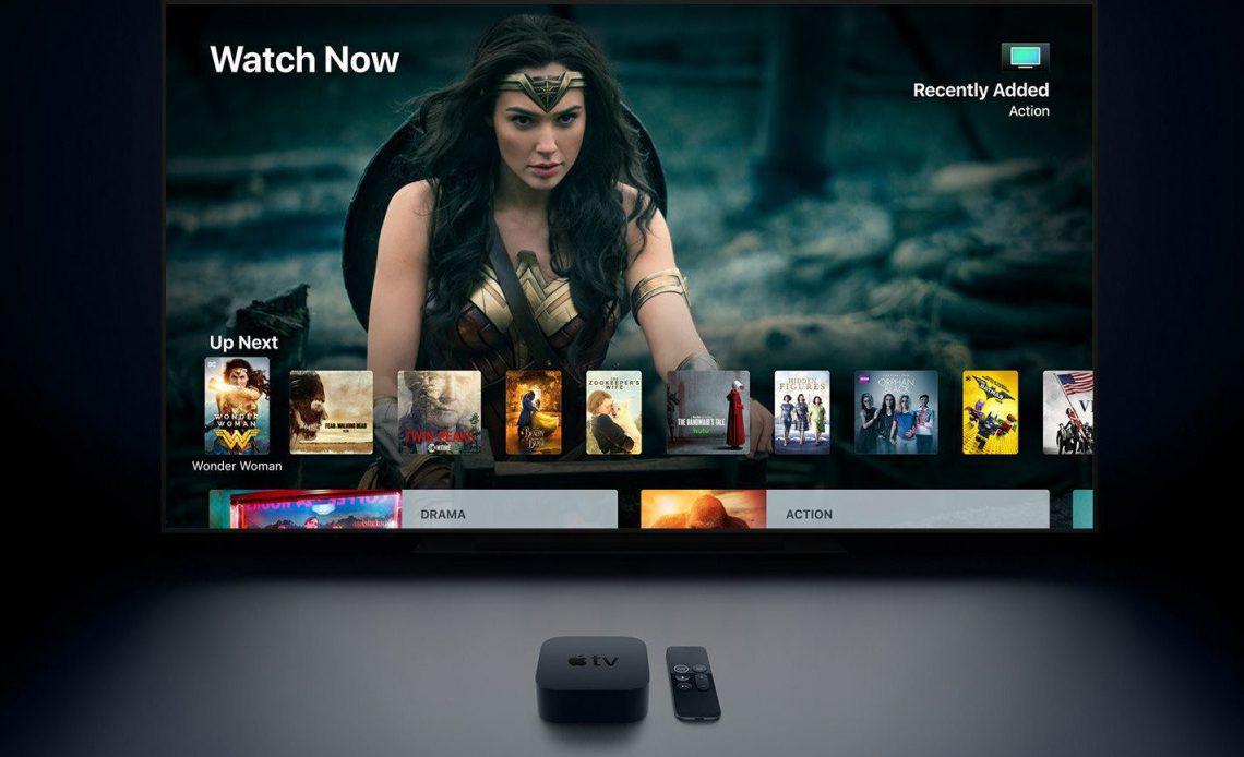 Apple TV 4K демонстрирует фильм Wonder Woman