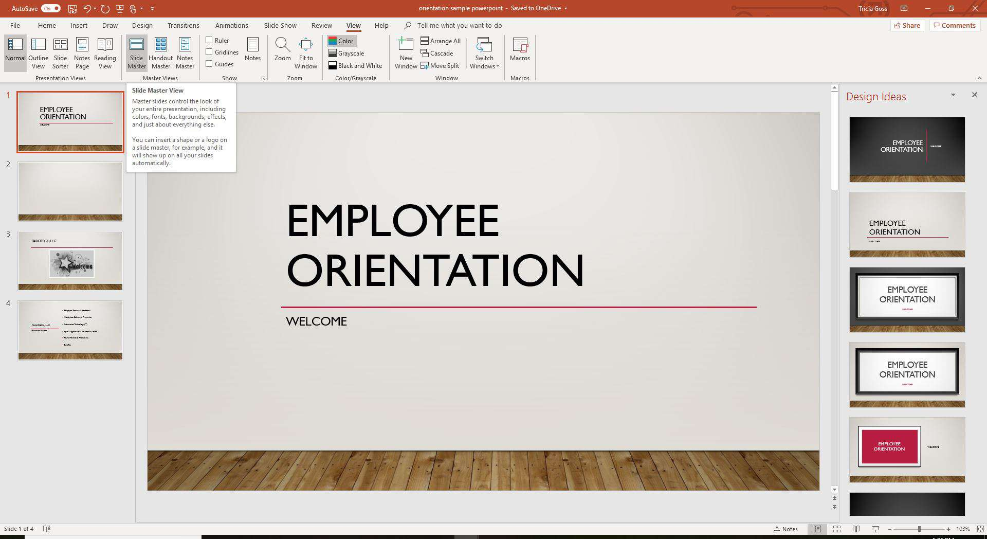 Presentation power point importance of resume sent electronically