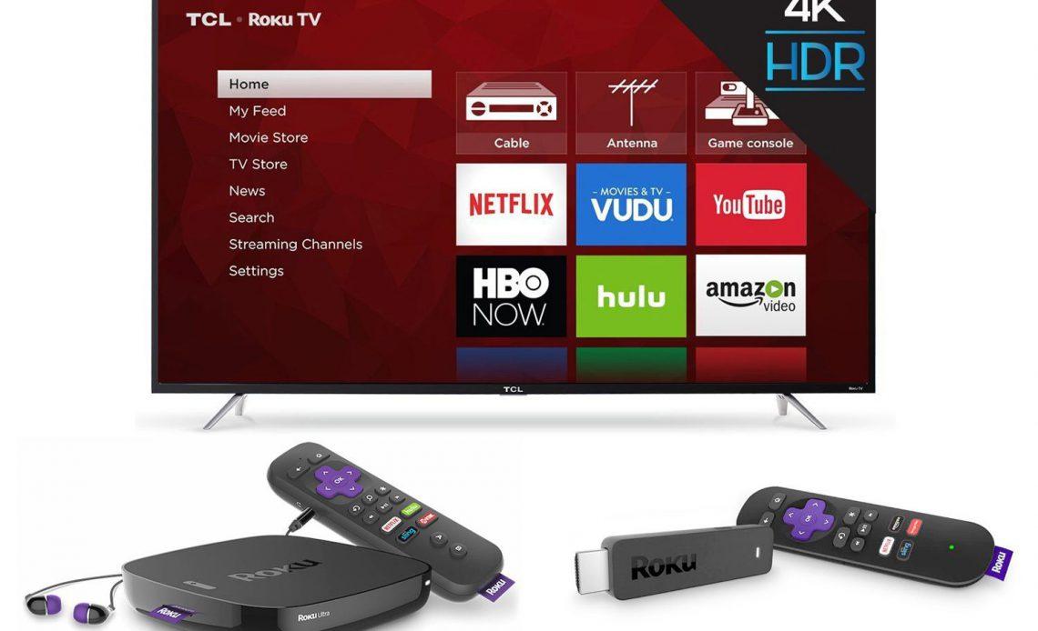 Примеры Roku TV, Box и потоковой передачи