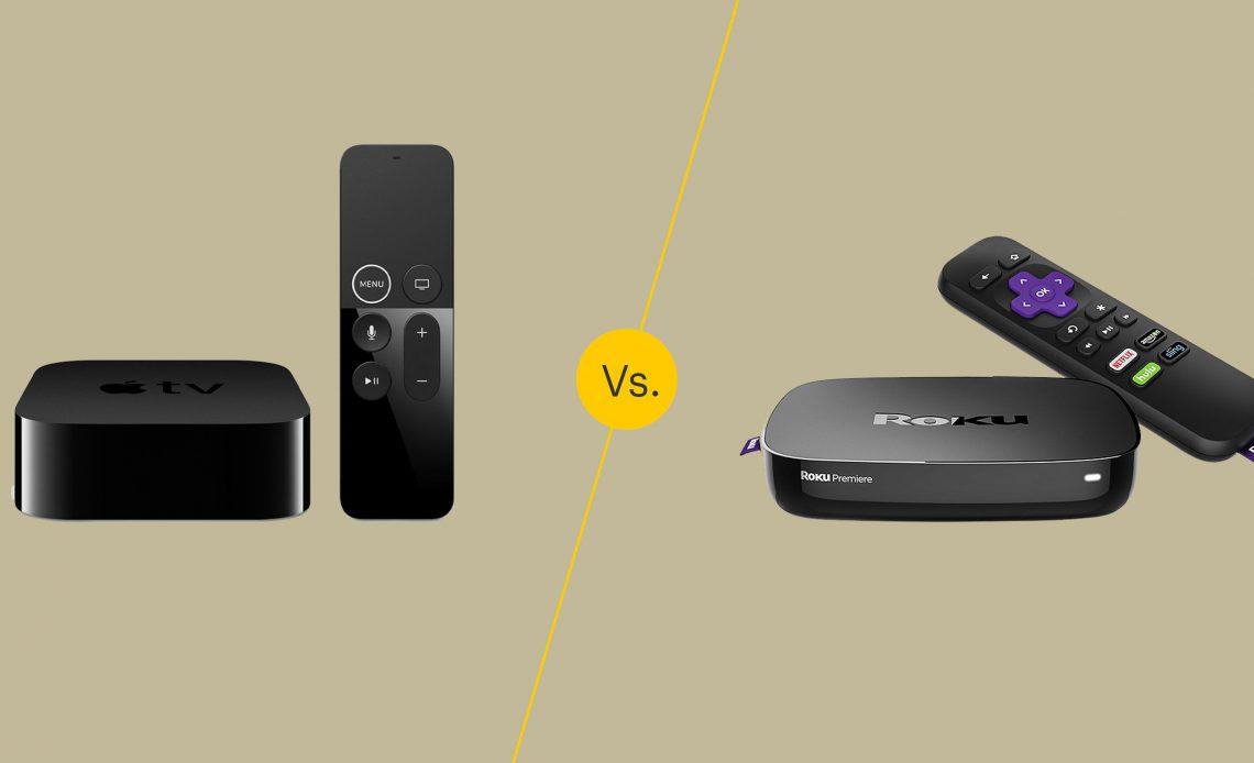 Apple TV 4K против Року Премьера