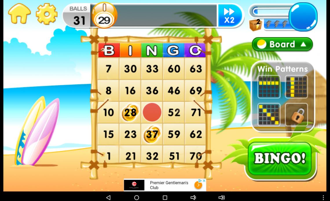 Скриншот AE Bingo для Android