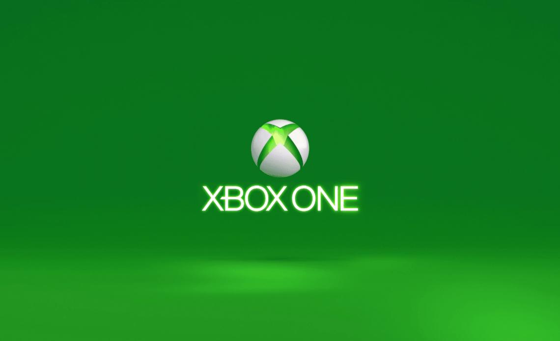 Скриншот Xbox One, застрявшего на зеленом экране загрузки.