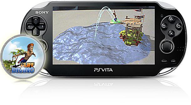 Cliff Diving AR Игра для PS Vita