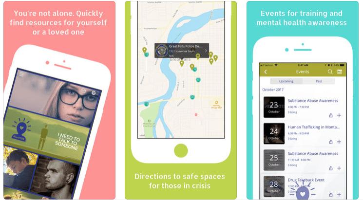 Скриншоты приложения #LetsTalk
