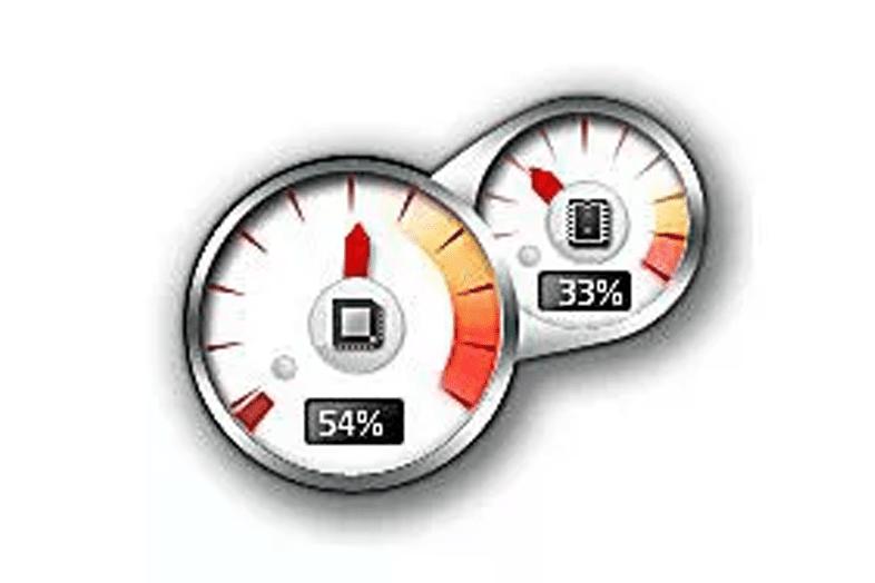 Гаджет Windows Meter процессора