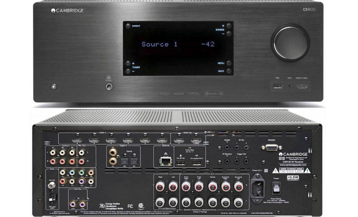 Приемник домашнего кинотеатра Cambridge Audio CXR120