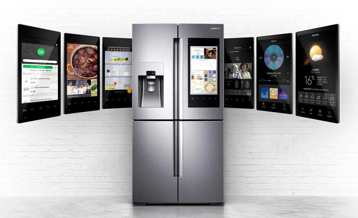 Samsung умный холодильник