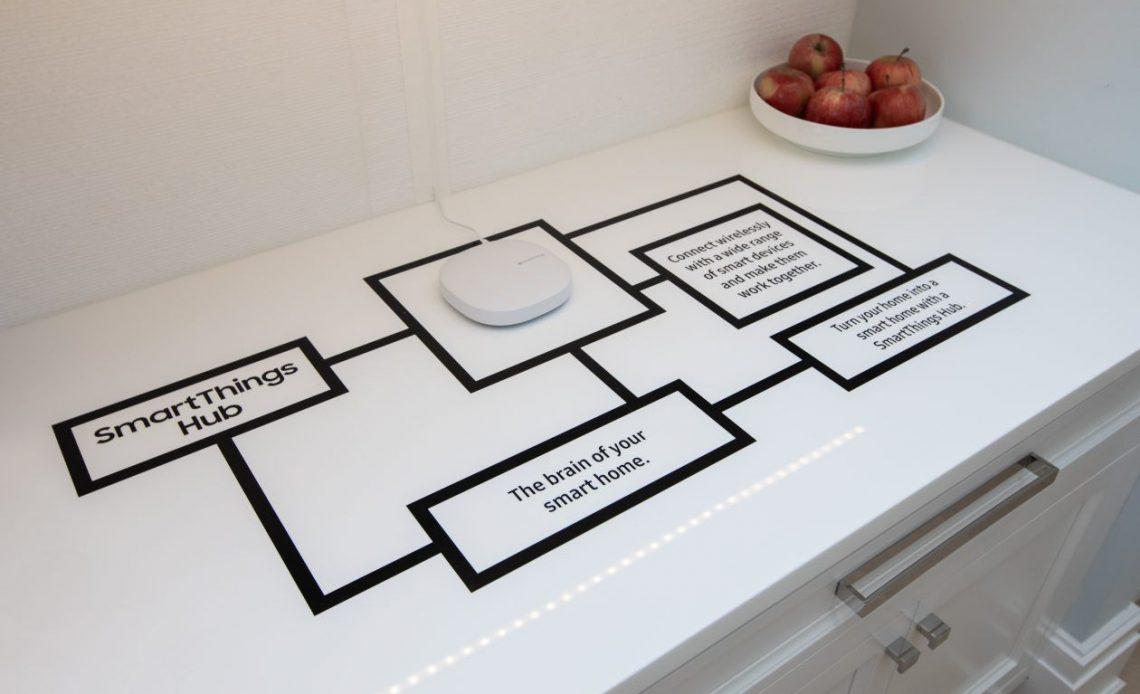 Демонстрация Samsung SmartThings Hub в домашних условиях