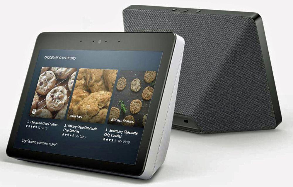 Amazon Echo Show пример второго поколения