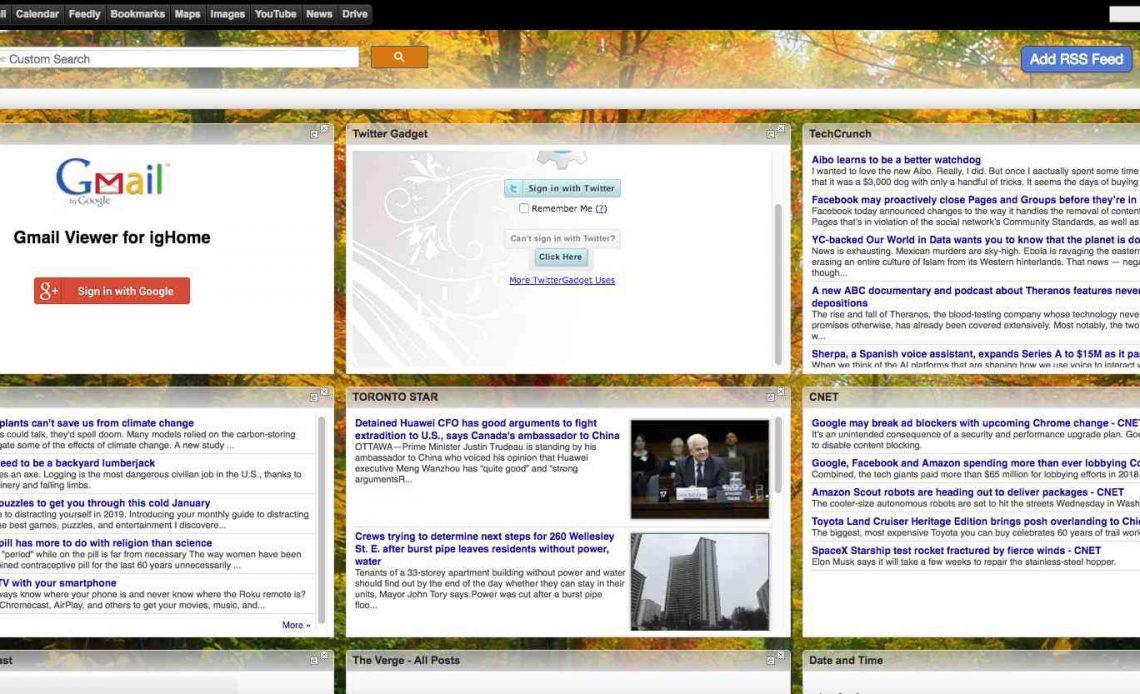 Скриншот igHome.com.