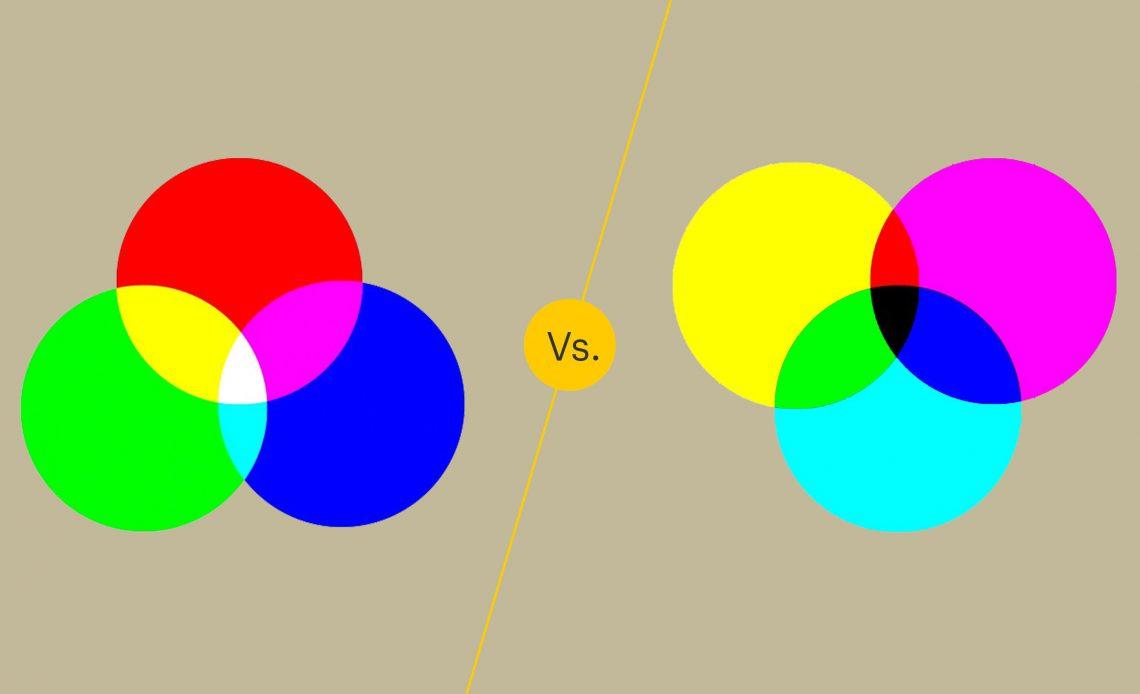 RGB против CMYK