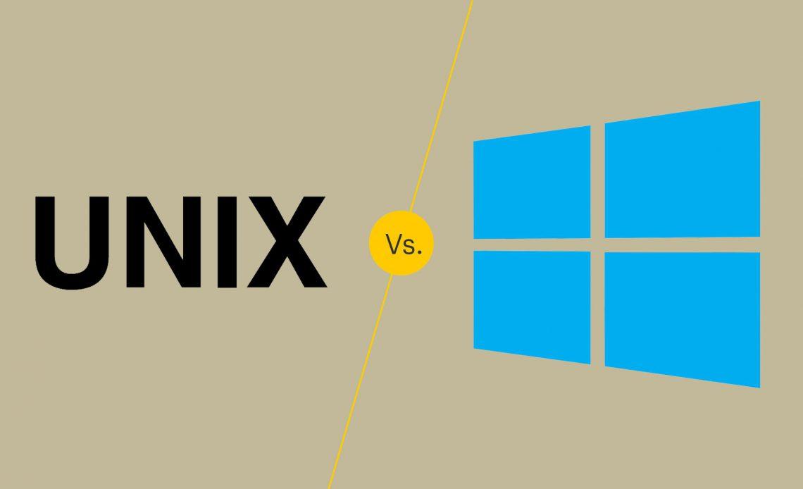 UNIX против Windows