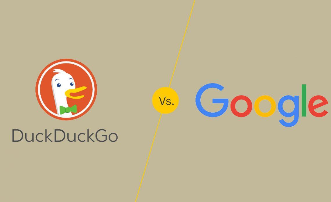 DuckDuckGo против Google